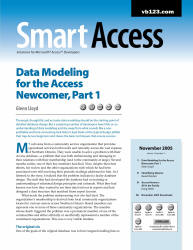 Front page of a Smart Access Magazine